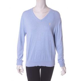 Suéter Azul Polo By Ralph Lauren