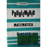 Problemario Matemáticas 8vo.grado De Enrique Navarro