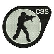 Counter Strike  Patch Bordado Jogo Game Geek Envio Imediato