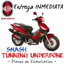 Moto Gilera Smash 110 Tunning Underbone 0km 2017