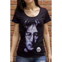 Camiseta Ksa Da Árvore Grafite John Lennon