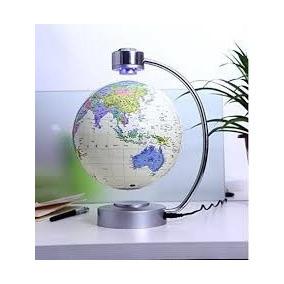 Globo Terraqueo Magnético Giratorio Y Con Luz Led