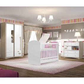 Dormitório Infantil 3 Peças - Henn Favo De Mel Bm043