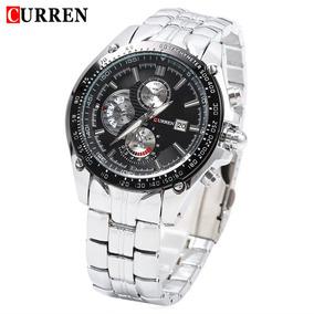 Curren 8083 Reloj De Pulsera Puntero Luminoso Quartzwatch 3a