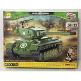 Bloques Cobi Vehiculo Tanque De Guerra Grande M-26 450 P!!!