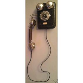 Antiguo Telefono De Pared Ericsson Completo- Zona Oeste