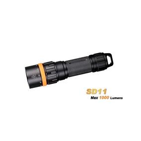Nueva Linterna P/buceo Fenix Sd11 Con 1000lm Y Resiste 100m.