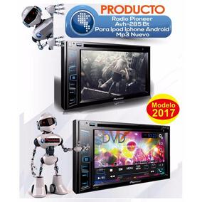 Pioneer Avh-x2850bt Estereo Doble Din Touch Dvd Mp3 Bt Mp3