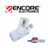 Multi Lector Memorias Portable Encore Usb 3 Y 2 Compac Flash