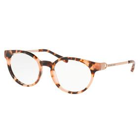 Óculos De Grau Michael Kors Mk4048 3155 51 Tartaruga Pessego 91ab0f03cf