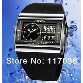 Relógio Digital E Analógico Marca Ohsen Esportivo Prova Água