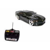 Camaro Preto Controle Remoto Bateria Recarregável
