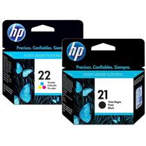 Cartuchos Originais Hp 21 Preto E 22 Color - Melhor Preço!!!