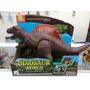 Dinosaur World Original! Dinosaurio Con Sonido Exc Calidad