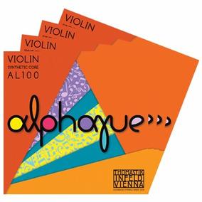 Jogo De Cordas Para Violino 4/4 - Thomastik Alphayue***