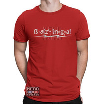 Camisetas The Big Bang Theory Sheldon Cooper Bazinga Geeks