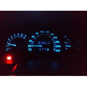 Lampada Led Ice Blue Painel E Relogio Vectra 1994 1995