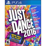 Ps4 Games Just Dance 2016. Nuevo, Cerrado Y Original Oferta!