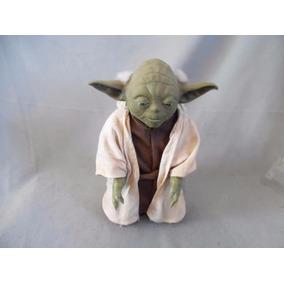 Star Wars Boneco Yoda Falante Hasbro 30 Cm Raridade
