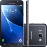 Smartphone Samsung Galaxy J7 Metal Dual Chip - Preto