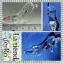 Zapato Cristal/acrilico/6,5x4cm/ Cenicienta /10 Unidades