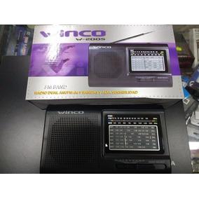 Radio Am/fm Winco W2005 Electrica Y A Pilas En Tribunales