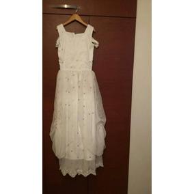 Vestido Blanco Talla 10-12