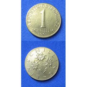 Moeda Austríaca 1 Schilling 1965 Para Sua Coleção