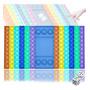 checkerboard-Rainbow colors