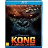 Blu-ray Original: Kong - A Ilha Da Caveira - Lacrado