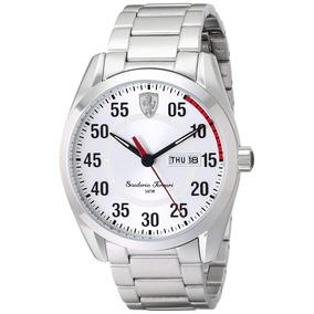 052f22490b5 Relogio Ferrari Dourado Fb006 D - Relógios no Mercado Livre Brasil