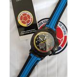 Reloj Trace Selección Colombia Y Camiseta Polo Oficial