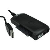Adaptador De Usb A Sata/ide + Fuente + Cables Universal