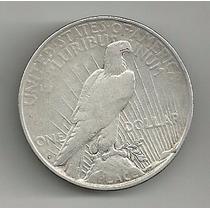 Usa 1 Dolar Peace 1922 D Plata