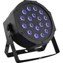 Refletor Led Par 64 Uv 18 Leds Luz Negra Festa Iluminação Nf