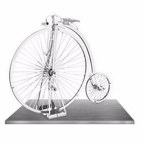 Rompecabezas Métalico 3d Rueda Bicicleta Antigua