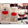 Forro Copa De Vino Liquido Iphone 5/5s 6/6s 6/6s Plus Ofert