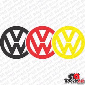 Adesivo Vw German Volkswagen Carro Rebaixado Turbo 15x6cm
