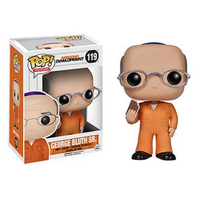 Funko Pop George Bluth Sr Arrested Development Prison Vinyl