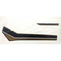Faixas Cg125 Ml 80/81 Marrom Tanque E Laterais Completo Kit