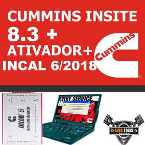 Cummins Insite 8.3 + Incal 06/2018 + Ativador