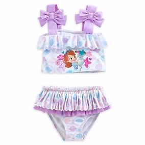 Vestido De Baño Princesita Sofia Talla 4 Disney