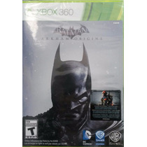 Batman Arkham Origins Xbox 360 Novo Lacrado Envio Imediato