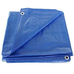 Lona 6x3 Azul Plastica Impermeavel Festa Telhado Lago