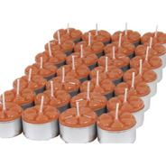 24 Velas Aromáticas Aromatizada Luxo Caixa Rechaud 12 Aroma