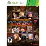 Dead Or Alive 5 Ultimate - Xbox 360 Nuevo Blakhelmet E