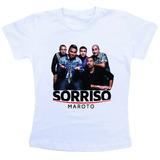 Camiseta Baby Look Feminina / Sorriso Maroto Jk6433