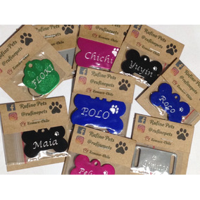 Placas De Identificación Para Mascotas Con Grabado