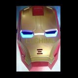 Mascara Iron Man Con Luz Superheroes Vengadores