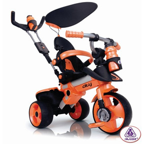 Triciclo Carreola Montable Evolutivo C/ Techo City Trike